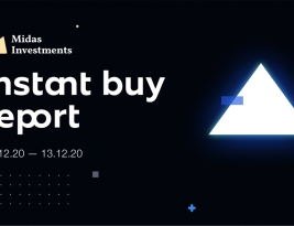 InstantBuy weekly report: 07.12.20 – 13.12.20