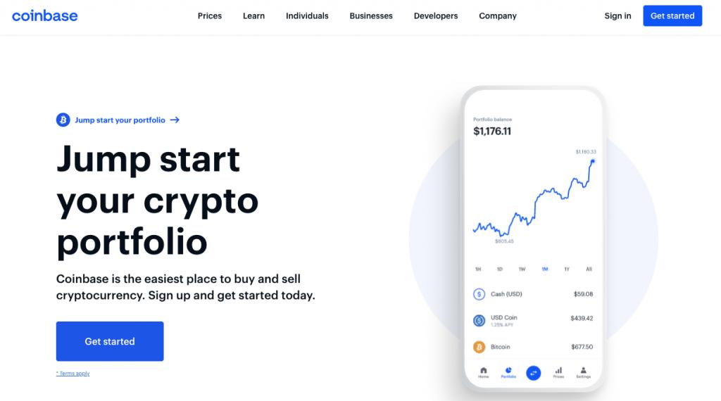 coinbase_website